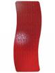 Apollo Ferrara 570 x 1420mm Red Glass Wave Vertical Radiator