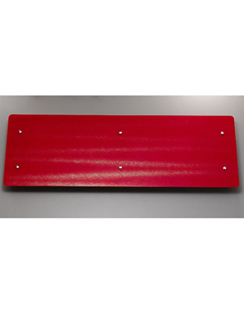 Related Apollo Ferrara Red Glass 1420 x 500mm Stainless Steel Horizontal Radiator