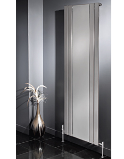 More info Apollo Capri Vertical Radiator With Mirror Chrome 600 x 1800mm