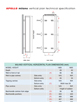 Apollo Milano Vertical Plan Radiator White 500 x 1800mm