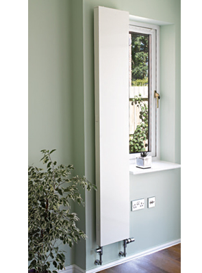 Apollo Milano Vertical Plan Radiator White 600 x 1400mm