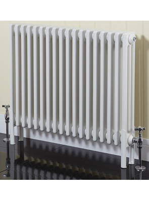 Phoenix Nicole Horizontal 1177 x 600mm White 3 Column Radiator