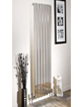 Apollo Capri Double Panelled White Designer Radiator 450 x 1000mm