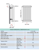 Apollo Roma 2 Column 1400 x 600mm Horizontal Steel Radiator