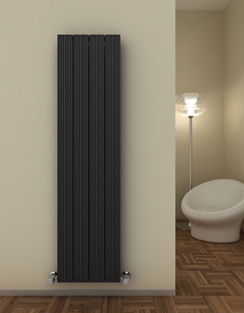 More info Reina Enzo Black Aluminium Vertical Radiator 280 x 1800mm