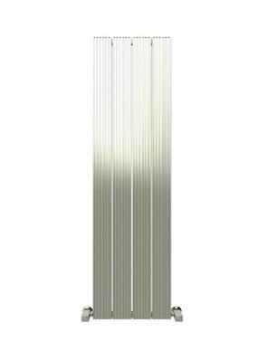 Reina Enzo Polished Aluminium Vertical Radiator 470 x 1800mm