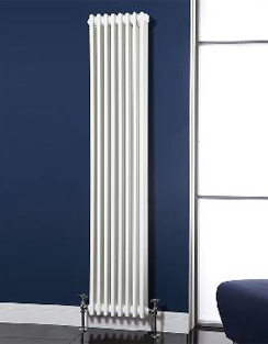 More info Phoenix Nicole Vertical 287 x 1800mm White 3 Column Radiator
