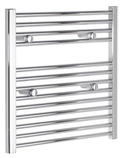 More info Tivolis Chrome Straight Heated Towel Rail 450 x 600mm