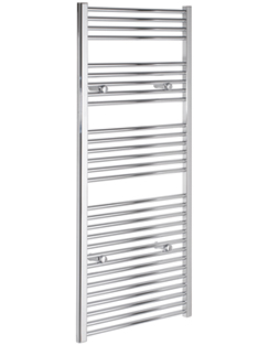 More info Tivolis Straight Chrome Heated Towel Warmer 400 x 1400mm