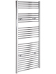 Tivolis Straight Chrome Heated Towel Warmer 400 x 1400mm