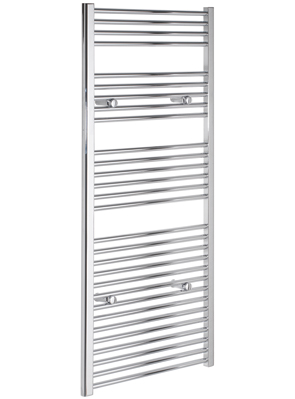 Tivolis Chrome Straight Heated Towel Rail 700 x 1400mm