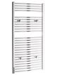 Tivolis Chrome Curved Heated Towel Rail 750 x 1200mm