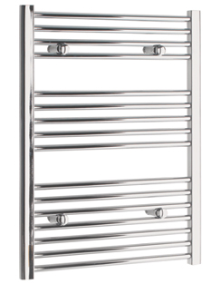 More info Tivolis Chrome Straight Heated Towel Rail 750 x 800mm