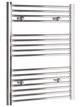 Tivolis Chrome Straight Heated Towel Rail 750 x 800mm