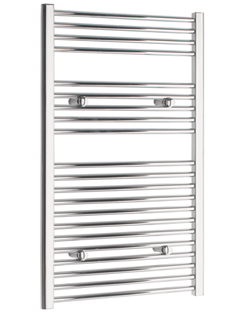 More info Tivolis Chrome Straight Heated Towel Rail 750 x 1000mm