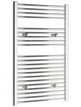 Tivolis Chrome Straight Heated Towel Rail 750 x 1000mm
