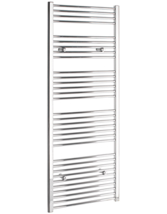 More info Tivolis Chrome Straight Heated Towel Rail 750 x 1600mm