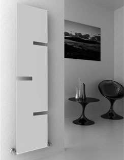More info Reina Fiore 400 x 1800mm Designer Radiator White