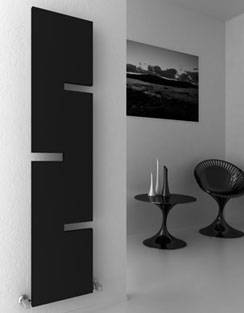 More info Reina Fiore 400 x 1800mm Designer Radiator Anthracite