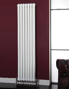 More info Phoenix Lilly Vertical 318 x 1800mm White Designer Radiator