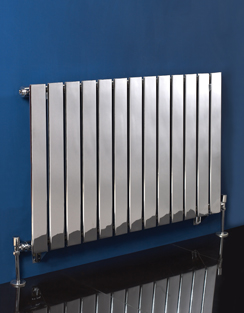 More info Phoenix Orla Wide 1000 x 600mm Chrome Designer Radiator