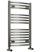 Reina Diva Chrome Curved Heated Towel Rail 500 x 1000mm