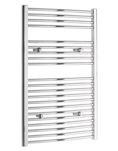 More info Tivolis Curved Chrome Heated Towel Rail 300 x 1000mm