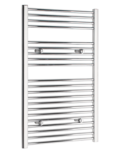 More info Tivolis Straight Chrome Heated Towel Rail 700 x 1000mm