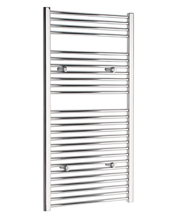More info Tivolis Straight Chrome Heated Towel Rail 450 x 1200mm