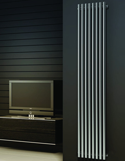 More info Reina Orthia Satin Stainless Steel Designer Radiator 295 x 1800mm