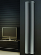 Reina Orthia Satin Stainless Steel Designer Radiator 390 x 1800mm