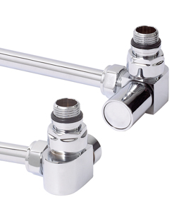 More info Phoenix Corner Chrome Radiator Valves