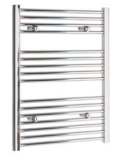 Related Tivolis Straight Chrome Heated Towel Rail 700 x 800mm