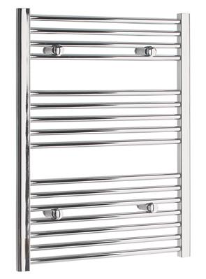 Tivolis Straight Chrome Heated Towel Rail 500 x 800mm
