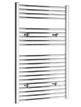 Tivolis Straight Chrome Heated Towel Rail 500 x 1000mm