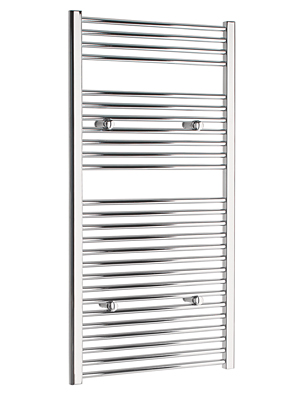 Tivolis Straight Chrome Heated Towel Rail 500 x 1200mm