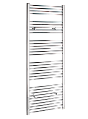 Tivolis Straight Chrome Heated Towel Rail 500 x 1600mm