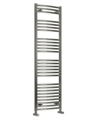 Reina Diva Flat Thermostatic Electric Towel Rail 500 x 1600mm Chrome