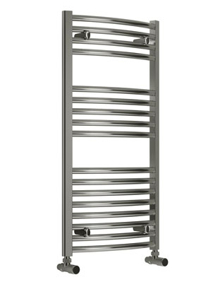 Reina Diva Flat Standard Electric Towel Rail 600 x 1000mm Chrome