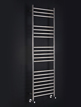 Phoenix Athena 500 x 800mm Stainless Steel Heated Towel Rail