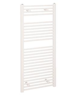 More info Reina Diva Flat Standard Electric Towel Rail 450 x 1200mm White