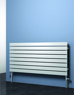 More info Reina Rione White Designer Radiator 400 x 550mm
