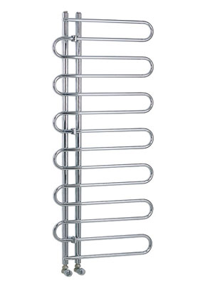 Reina Jesi Chrome Designer Radiator 600 x 1400mm