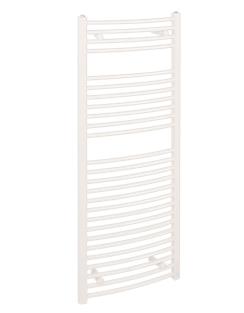 More info Reina Diva Curved 600 x 800mm White Standard Electric Towel Rail