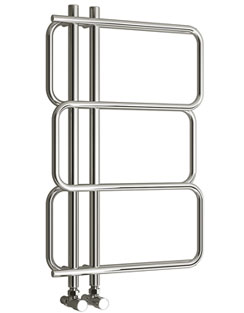 More info Reina Kalani 540 x 884mm Chrome Designer Radiator