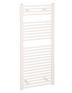More info Reina Diva Flat Thermostatic Electric Towel Rail 300 x 1200mm White