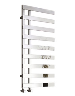 More info Reina Florina 500 x 1235mm Designer Radiator Chrome
