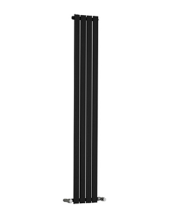 More info Reina Osimo Black Designer Radiator 290 x 1800mm