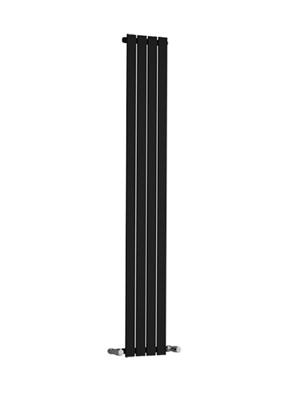 Reina Osimo Black Designer Radiator 430 x 1800mm