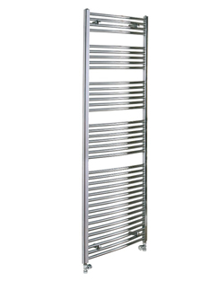 More info Reina Diva Chrome Flat Heated Towel Rail 600 x 1800mm
